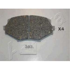 ASHIKA 50-03-383 Комплект тормозных колодок, дисковый тормоз Мазда М-Икс 5
