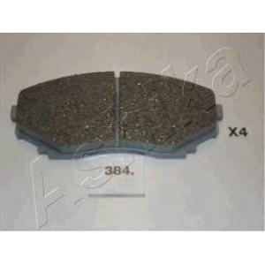 ASHIKA 50-03-384 Комплект тормозных колодок, дисковый тормоз Мазда Мпв