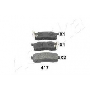 ASHIKA 50-04-417 Комплект тормозных колодок, дисковый тормоз Хонда Джаз