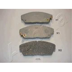ASHIKA 50-04-426 Комплект тормозных колодок, дисковый тормоз Хонда Акорд
