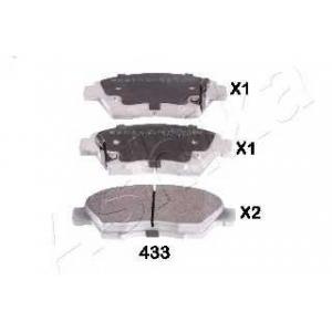 ASHIKA 50-04-433 Комплект тормозных колодок (пр-во ASHIKA)