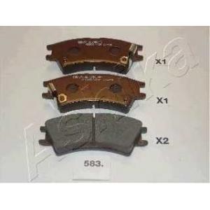 ASHIKA 5005583 Комплект тормозных колодок, дисковый тормоз
