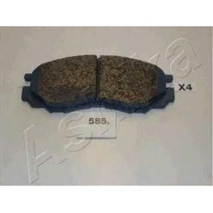 ASHIKA 50-05-585 Комплект тормозных колодок, дисковый тормоз Митсубиси Л 400