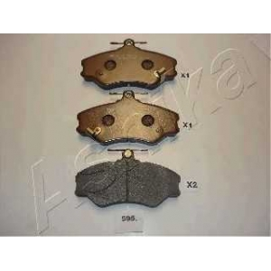 ASHIKA 50-05-595 Комплект тормозных колодок, дисковый тормоз Хюндай Н100