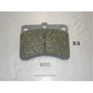 ASHIKA 50-06-605 Комплект тормозных колодок, дисковый тормоз Дайхатсу