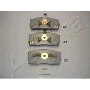 ASHIKA 50-06-606 Комплект тормозных колодок, дисковый тормоз Дайхатсу Аплоус