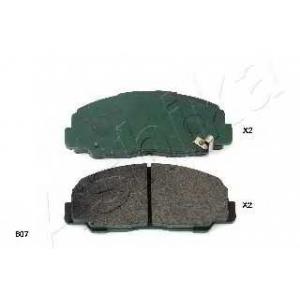 ASHIKA 50-06-607 Комплект тормозных колодок, дисковый тормоз Дайхатсу