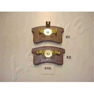 ASHIKA 50-06-610 Комплект тормозных колодок, дисковый тормоз Дайхатсу