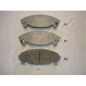 ASHIKA 50-06-699 Комплект тормозных колодок, дисковый тормоз Дайхатсу