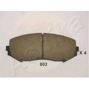 ASHIKA 50-08-802 Колодка торм. SUZUKI GRAND VITARA (пр-во ASHIKA)