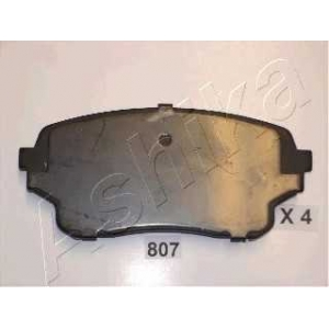 ASHIKA 5008807 Комплект тормозных колодок, дисковый тормоз