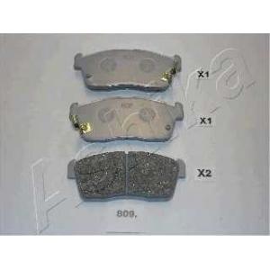 ASHIKA 50-08-809 Комплект тормозных колодок, дисковый тормоз Дайхатсу