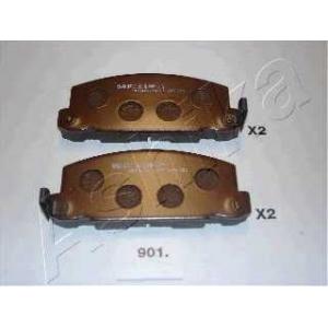 ASHIKA 50-09-901 Комплект тормозных колодок, дисковый тормоз Исузу Трупер