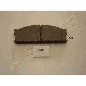 ASHIKA 50-09-902 Комплект тормозных колодок, дисковый тормоз Исузу Мидиан