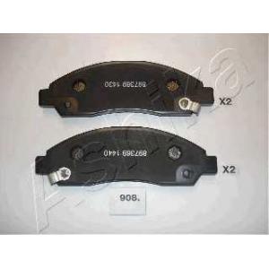 ASHIKA 50-09-908 Комплект тормозных колодок, дисковый тормоз Исузу Д-Макс