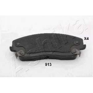 ASHIKA 50-09-913 Комплект тормозных колодок, дисковый тормоз Крайслер 300