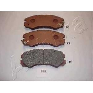 ASHIKA 50-09-999 Комплект тормозных колодок, дисковый тормоз Опель Монтерей