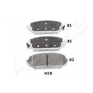 ASHIKA 50-0H-H19 Комплект тормозных колодок, дисковый тормоз Хюндай Айикс 55