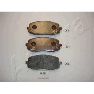 ASHIKA 50-0K-010 Комплект тормозных колодок, дисковый тормоз Киа Пиканто