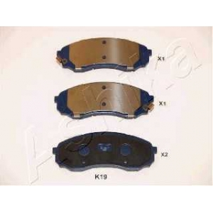 ASHIKA 50-0K-019 Комплект тормозных колодок, дисковый тормоз Хюндай Н1 Карго