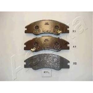 ASHIKA 50-0K-K11 Комплект тормозных колодок, дисковый тормоз Киа Спектра
