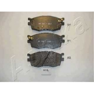 ASHIKA 50-0K-K12 Колодка торм. HYUNDAI ACCENT (пр-во ASHIKA)