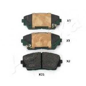 ASHIKA 50-0K-K23 Комплект тормозных колодок, дисковый тормоз Киа Пиканто