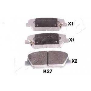 ASHIKA 50-0K-K27 Комплект тормозных колодок, дисковый тормоз Киа Сид Спорт