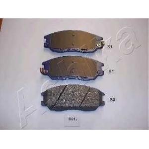 ASHIKA 50-0S-S01 Комплект тормозных колодок, дисковый тормоз Киа Опирус