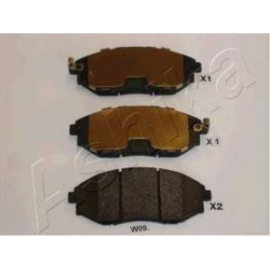 ASHIKA 50-0W-W09 Комплект тормозных колодок, дисковый тормоз Шевроле Епика