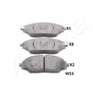 ASHIKA 50-0W-W15 Комплект тормозных колодок, дисковый тормоз Шевроле Авео