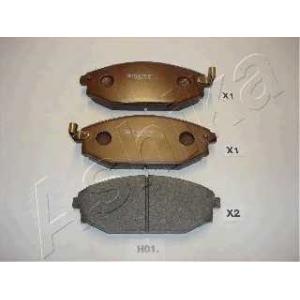 ASHIKA 50-H0-001 Комплект тормозных колодок, дисковый тормоз Хюндай Галлопер