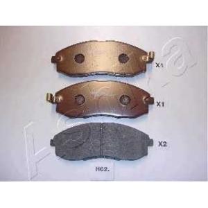 ASHIKA 50-H0-002 Комплект тормозных колодок, дисковый тормоз Хюндай Н1