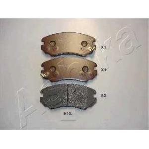 ASHIKA 50-H0-010 Комплект тормозных колодок, дисковый тормоз Киа Опирус