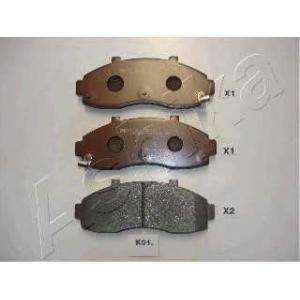 ASHIKA 50-K0-001 Комплект тормозных колодок, дисковый тормоз Киа Преджио