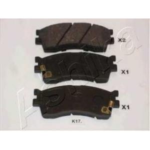 ASHIKA 50-K0-017 Комплект тормозных колодок, дисковый тормоз Киа Кларус