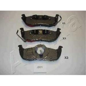 ASHIKA 51-00-001 Комплект тормозных колодок, дисковый тормоз Джип Коммандер