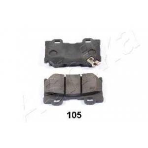ASHIKA 51-01-105 Комплект тормозных колодок, дисковый тормоз Инфинити Джи