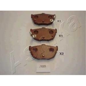 ASHIKA 51-01-123 Комплект тормозных колодок, дисковый тормоз (пр-во ASHIKA)