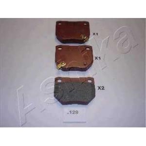 ASHIKA 51-01-129 Комплект тормозных колодок, дисковый тормоз (пр-во ASHIKA)