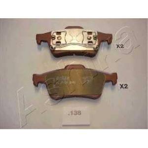 ASHIKA 51-01-138 Комплект тормозных колодок, дисковый тормоз Мазда 3