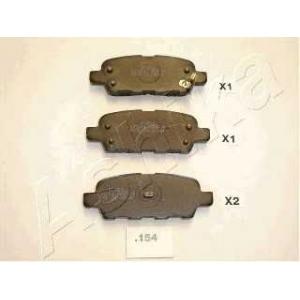 ASHIKA 51-01-154 Комплект тормозных колодок, дисковый тормоз Инфинити Ф-Икс