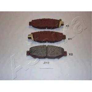 ASHIKA 51-02-212 Комплект тормозных колодок, дисковый тормоз Лексус Лс