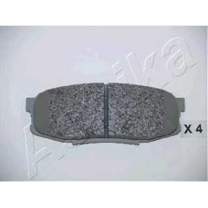 ASHIKA 51-02-221 Комплект тормозных колодок, дисковый тормоз (пр-во ASHIKA)