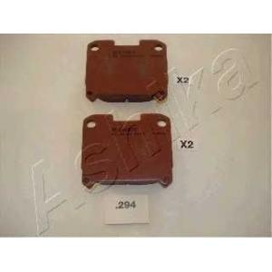 ASHIKA 5102294 Комплект тормозных колодок, дисковый тормоз