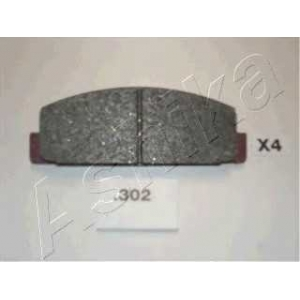 ASHIKA 51-03-302 Комплект тормозных колодок, дисковый тормоз Мазда 6