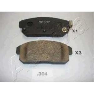 ASHIKA 51-03-304 Комплект тормозных колодок, дисковый тормоз Киа Опирус