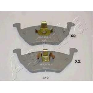 ASHIKA 51-03-310 Комплект тормозных колодок, дисковый тормоз Мазда Трибут