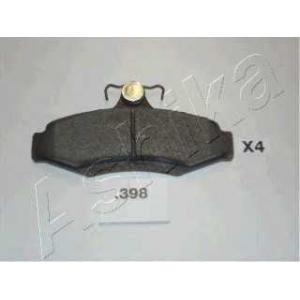 ASHIKA 51-03-398 Комплект тормозных колодок, дисковый тормоз Дэу Нубира