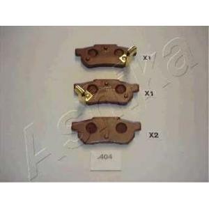 ASHIKA 51-04-404 Комплект тормозных колодок, дисковый тормоз Хонда Акорд
